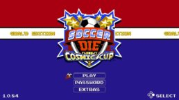 SoccerDie Intro Screen